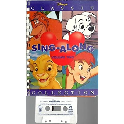 Classic Sing-Along Collection Vol. 2: Disney Book & Tape Csdisn 60899