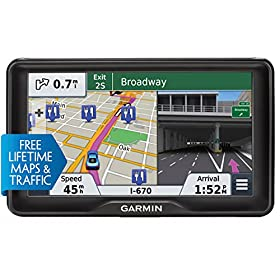 Garmin nu00fcvi 2797LMT 7-Inch Portable Bluetooth Vehicle GPS with Lifetime Maps and Traffic