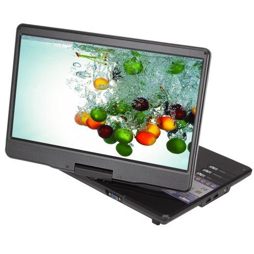 Koolertron 15.8 Inch Car Home Portable DVD Player MP3 MP4 DIVX TV SD USB Games
