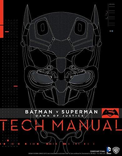 Batman V Superman: Dawn Of Justice: Tech Manual at Gotham City Store