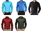5 Pieces Combo Formal And semi formal Shirt For Men's