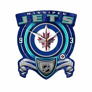 NHL Winnipeg Jets High Definition Clock by WinCraft