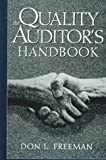 Quality Auditors Handbook (0132682028) by Freeman