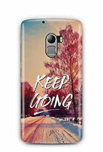 YuBingo Keep Going Designer Mobile Case Back Cover for Lenovo K4 Note