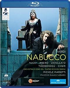 Verdi Nabucco Abbado 2009 Nucci Ribeiro Surian Theodossiou Chiuri Orchestra E Coro Del Teatro Regio Di Parma Michele Mariotti Daniele Abbado C Major 720504 Blu-ray from C Major