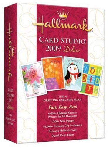 Hallmark Card Studio 2009 Deluxe