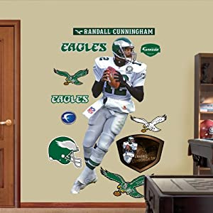 NFL Philadelphia Eagles Randall Cunningham Wall Graphics by Fathead