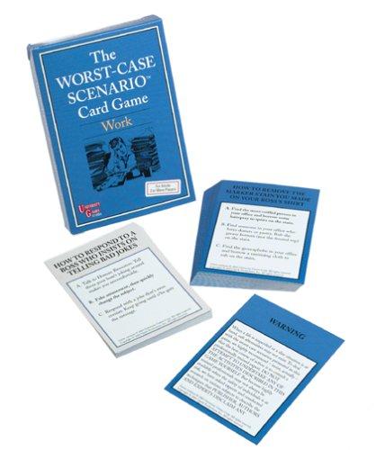 The Worst-Case Scenario Card Game - Work - 1