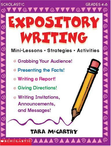 Expository Writing (Grades 4-8)