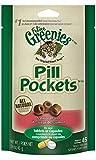 FELINE GREENIES PILL POCKETS Cat Treats, Salmon, 45 Treats, 1.6 oz.