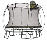 Springfree Trampoline feat. tgoma - 8x11ft Medium Oval With Basketball Hoop & Ladder