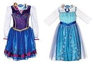 Disney Frozen Elsa and Anna Dress Com…