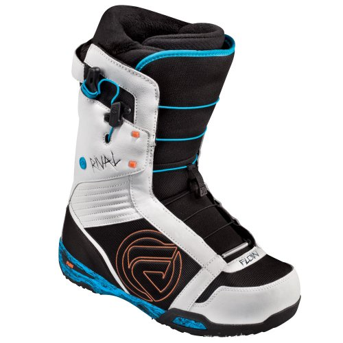 New Flow Rival Quickfit Mens Blue/White Freestyle Snowboard Boots 2013 (U.S. Mens size 10.5)