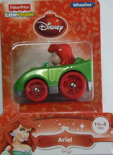 Fisher-Price Little People Wheelies Disney Ariel
