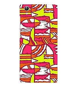 EPICCASE Colurful madness Mobile Back Case Cover For Vivo Y51 (Designer Case)