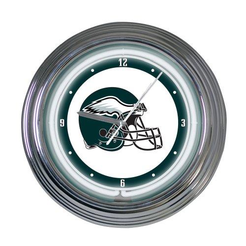 Philadelphia Eagles 15 inch Neon Clock