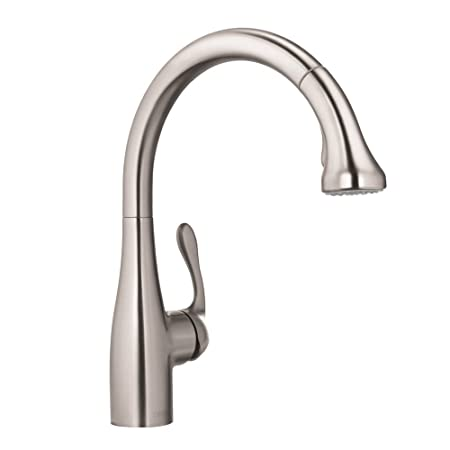 Hansgrohe 04066860 Allegro E Gourmet HighArc Kitchen Faucet, Steel Optik