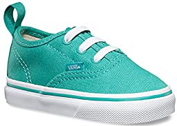 Vans Toddlers Authentic V Lace Sea Blue/True White VN0004KPIYY Toddler 9
