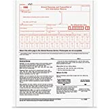 1 X TOP2202 - 1096 Tax Form, 2 Part with Carbon, 8x11, 10/PK