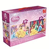 Disney 2-in-1 Princess Belle Jigsaw Puzzles (35 Pieces/ 50 Pieces)