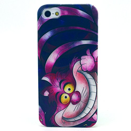 iPhone SE Case, iPhone 5S Case - X-Master® Fashion Style Colorful Painted Colorful TPU Case Back Cover Protector Skin For iPhone SE/5S 4.0 Inch (Fat Cat)
