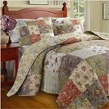 Blooming Prairie Bedspread SET King