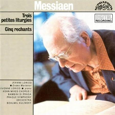 Messiaen - 3 petites liturgies de la présence divine 5190GZWa9rL._SY450_