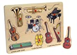 Toys : Melissa & Doug Educational Products - Wooden Music Peg Puzzle - Recommended Ages: 2+ years