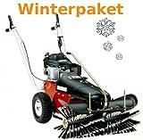 Tielbürger Kehrmaschine tk36 Winterpaket inkl. Schneebürst...