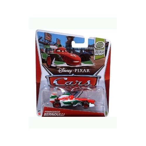 Cars 2 WGP Francesco Bernoulli 1:55 Scale Die Cast Vehicle
