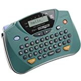 Brother PT-65 P-touch Home and Hobby Labeler with LCD Screen (Color: GREEN / BLACK)