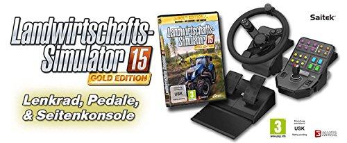 Landwirtschafts Simulator 15 Gold Edition Inkl Lenkrad Pedale