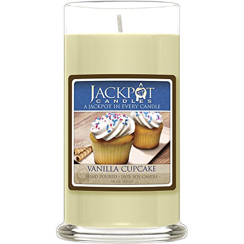 Vanilla Cupcake Candle with a Ring Inside (Surprise Jewelry Valued At $15 to $5,000) - Ring Size 7