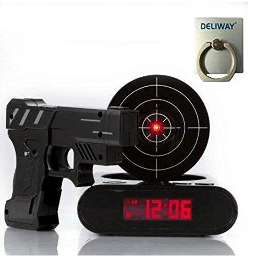 Top 5 best gun alarm clock for sale 2016 product boomsbeat for Best alarm clock 2016