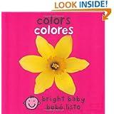 Bilingual Bright Baby Colors (Spanish Edition)