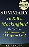 img - for Summary - To Kill a Mockingbird: Novel By Harper Lee -- Story Shortened into 35 Pages or Less! (To Kill A Mockingbird: Story Shortened -- Book, Hardcover, ... Paperback, Dvd, Movie, Audible, Audiobook) book / textbook / text book