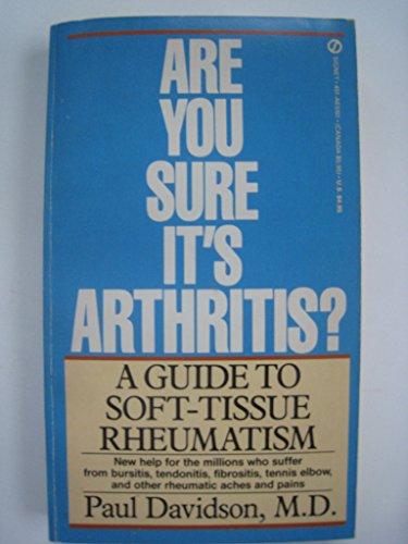 Are You Sure It's Arthritis?, Davidson, Paul