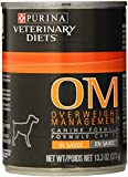 Purina Veterinary Diets Canine OM Overweight Management Canned Dog Food 12/13.3-oz cans