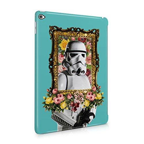 Star Wars Fancy Floral Stormtrooper Portrait Apple iPad Air 2 Hard Plastic Case Cover