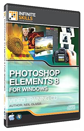 Adobe Photoshop Elements 8 - Windows. Training Video - Tutorial DVD