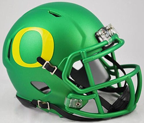Riddell 9585589881 Oregon Ducks Replica Speed Mini Helmet, Apple Green