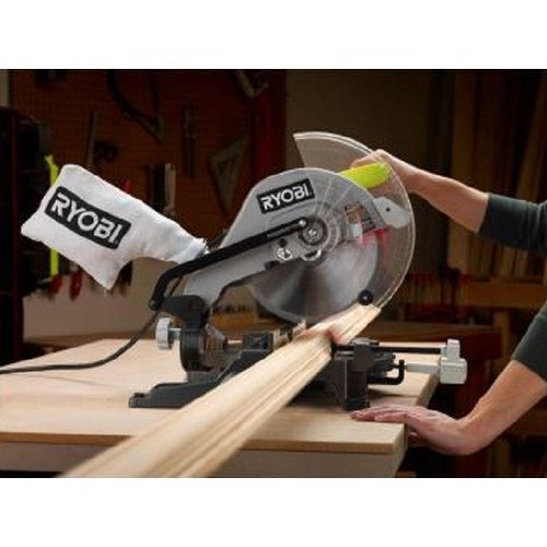 Ryobi ZRTS1345L 10 in. Compound Miter Saw  via Amazon
