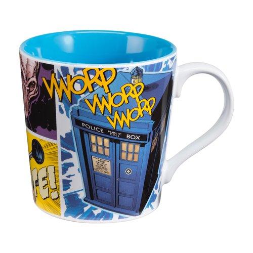 Vandor 16061 Doctor Who 12 Oz Ceramic Mug, Multicolor