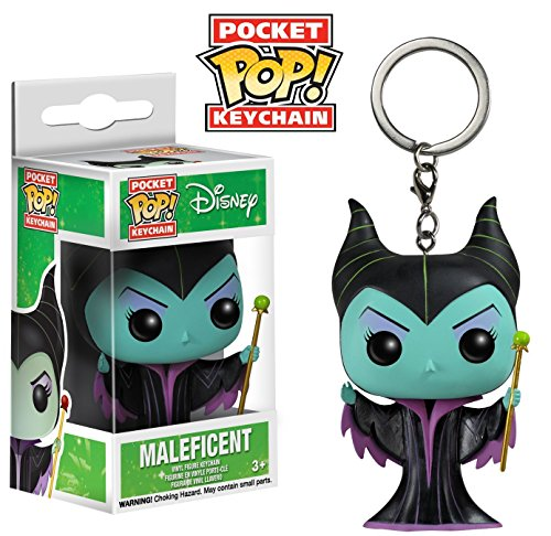 Funko-POP-Keychain-Disney-Maleficent-Classic-Action-Figure