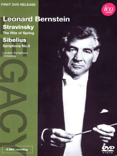 Stravinsky/ Sibelius: Rite Of Spring/ Symphony No. 5 (London Symphony Orchestra/ Leonard Bernstein) (ICA Classics: ICAD 5082) [DVD] [2012] [NTSC]