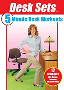 Desk Sets: 5 Minute Desk Workouts with Sharyn Pak