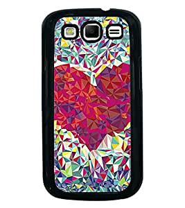 Printvisa Ultra Beautiful Diamond Heart 2D Hard Polycarbonate Designer Back Case Cover for Sa...