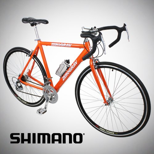 For Sale! New 54cm Aluminum Road Bike Racing Bicycle 21 Speed Shimano - Orange Color