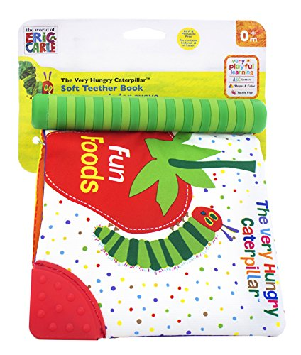 Kids Preferred Fun Foods Teether Soft Book, The Very Hungry Caterpillar (Discontinued by Manufacturer)