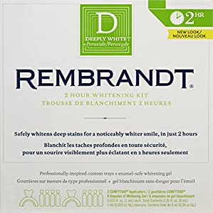 Rembrandt 2-Hour Whitening Kit